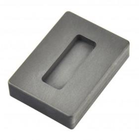 1 oz Troy Ounce Silver Kit Kat Graphite Ingot Mold