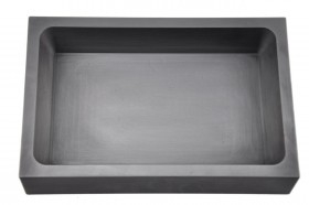 250 Troy Ounce Silver Graphite Ingot Mold