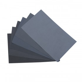 "9"" x 11"" 2,500 Grit Wet/Dry Sanding Paper - 10 Sheets"