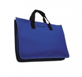 Blue Canvas Tote w/ Inside Pockets
