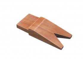 "5-1/4"" x 2-1/4"" Hardwood Bench Pin w/ V-Slot"