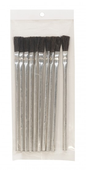 Pack of 12 Utility Flux Brushes