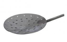 "10"" Diameter Stainless Steel Shallow Dish Skimmer w/ Holes"