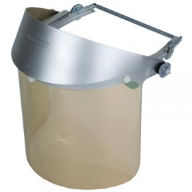 Clear Gold Faceshield with Headgear