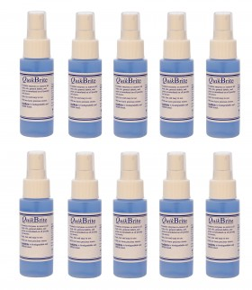 12 Pack QuikBrite Cleaner - 4 oz Spray Bottles