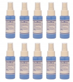 12 Pack QuikBrite Cleaner - 8 oz Spray Bottles