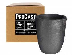 No 14 - 16 Kg Clay Graphite Foundry Crucible