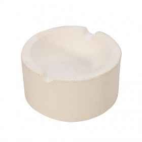 """3"""" - 7 Oz Ceramic Silica Crucible Dish Cup for Melting Pouring Gold, Silver, Copper"""