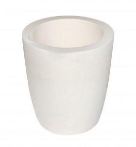 750 Gram Ceramic Alumina Crucible Cup