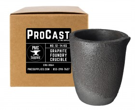 No 12 - 14 Kg Clay Graphite Foundry Crucible