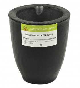 A5 - 6.8 Kg Salamander Super Clay Graphite Crucible