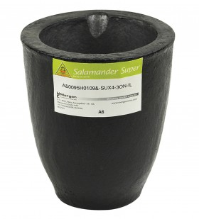 A6 - 9 Kg Salamander Super Clay Graphite Crucible