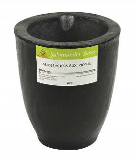 A20 - 30 Kg Salamander Super Clay Graphite Crucible