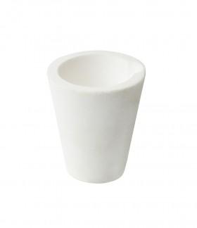 200 Gram Ceramic Alumina Crucible Cup