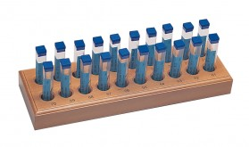 200 Piece Drill Set w/ Wooden Stand - Sizes 61-80