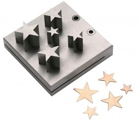 5 Piece Star Disc Cutter Set