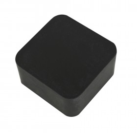 "2"" x 2"" x 1"" Rubber Dapping Block Stamping Surface"