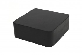 "2-1/2"" x 2-1/2"" x 1"" Rubber Dapping Block Stamping Surface"