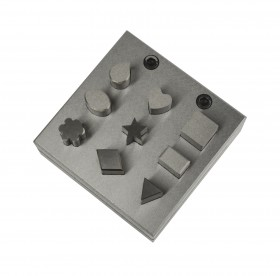 Disc Cutter w/ 9 Assorted Shapes - 12 mm