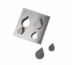 4 Piece Tear Drop Disc Cutter Set