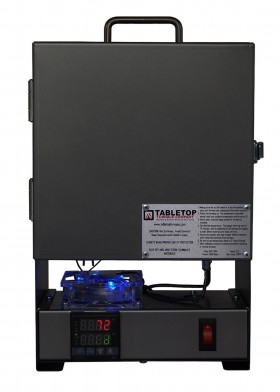 TableTop RapidFire Pro-LP Programmable Furnace - Powder Coated