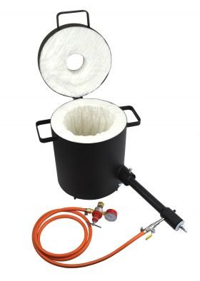 10 Kg Propane Metal Melting Foundry Furnace Light Duty