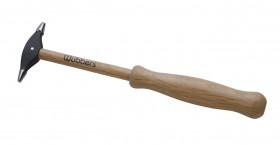 "8-1/2"" Wubbers Artisan's Mark Embossing Hammer - Fine Tipped"