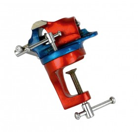 """2"""" Revolving Bench Vise w/ A-Clamp"""