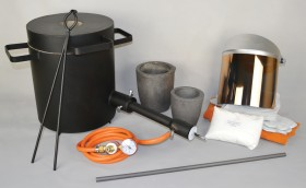 "The 10 Kg Light Duty ""Melters"" Propane Furnace Kit"
