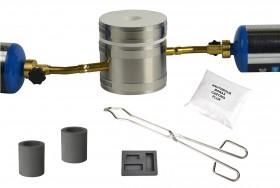 Deluxe Mini Kwik Kiln Propane Gold Silver Copper Melting Furnace Kit