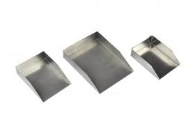 Gemstone and Diamond Shovel Prospecting Scoop Set - No. 2 No. 3 and No. 5