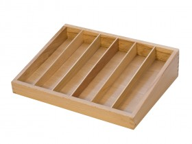 Wooden File Organizer w/ 6 Compartments