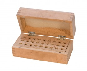 Premium Wooden Box w/ 27 Holes
