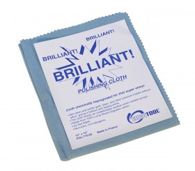 "Blue Brilliant Cloth - 12"" x 15"""