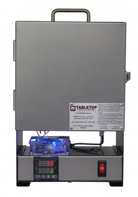 TableTop RapidFire Pro-LP Programmable Furnace - Chrome