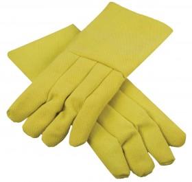 """High-Heat Resistant Kevlar® 14"""" / 22 oz Melting Furnace Gloves"""