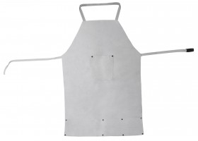 "24"" x 34"" Cowhide Leather BIB Apron w/ Pockets"