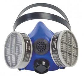 Honeywell Silicone Half Mask 2000 S Series Respirator w/ Speaking Diaphragm Size MEDIUM