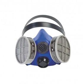 Honeywell Silicone Blue Large 1 Half Mask S Series Medium Respirator w/ Speaking Diaphragm