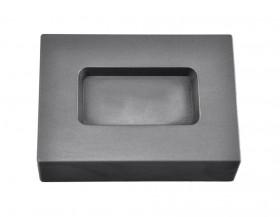 3 Troy Ounce Silver Rectangular Graphite Ingot Mold