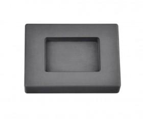 2 Troy Ounce Silver Rectangular Graphite Ingot Mold