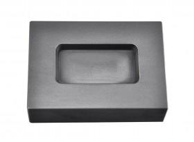 5 Troy Ounce Silver Rectangular Graphite Ingot Mold