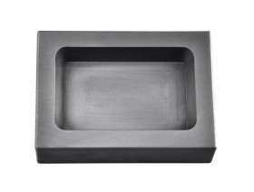 20 Troy Ounce Silver Rectangular Graphite Ingot Mold
