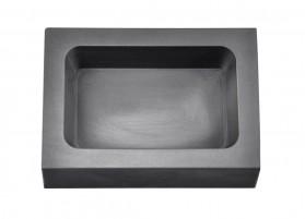 50 Troy Ounce Silver Rectangular Graphite Ingot Mold