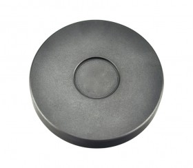 1/2 Troy Ounce Silver Round Coin Graphite Ingot Mold