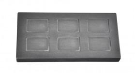 5 Gram Multi Cavity Silver Rectangular Graphite Ingot Mold