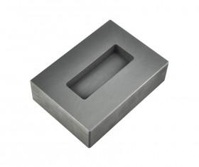 5 oz Troy Ounce Silver Kit Kat Graphite Ingot Mold