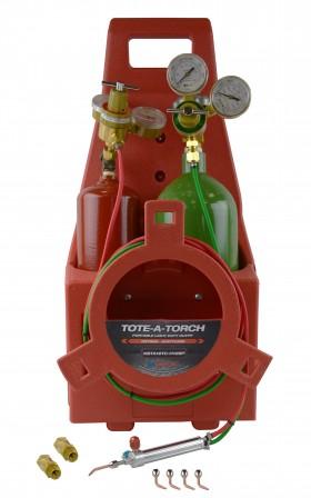 Oxygen/Acetylene Complete Small Kit w/ #2-6 Tips & Regulators