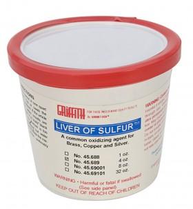 Liver of Sulfur - 4 oz Jar