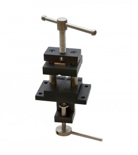 Steel Vise Holder Tool for Forming Stakes